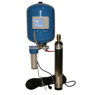 Система водоснабжения водомет