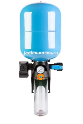 Джилекс КРАБ Т 18 автоматическая система поддержания давления и фильтрации воды